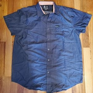 Taco bell button up shirt